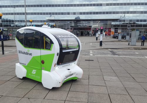 UK Autodrive Pod In Milton Keynes