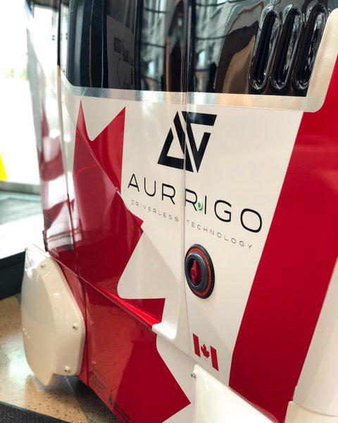 Aurrigo Canada Pod