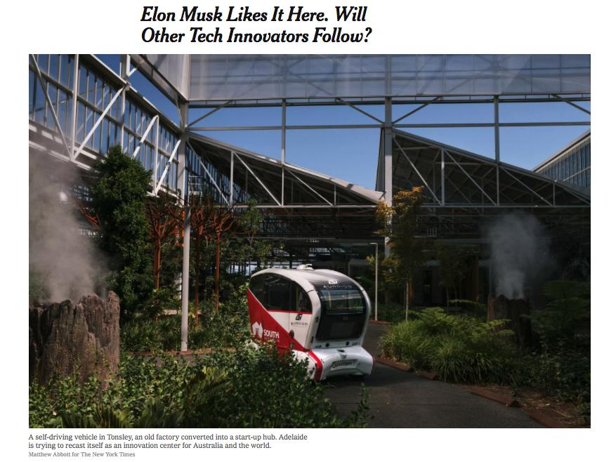Elon Musk Likes It Here. Will Other Tech Innovators Follow?