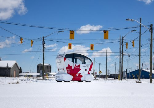 Pod Zero Operating In Ottawa