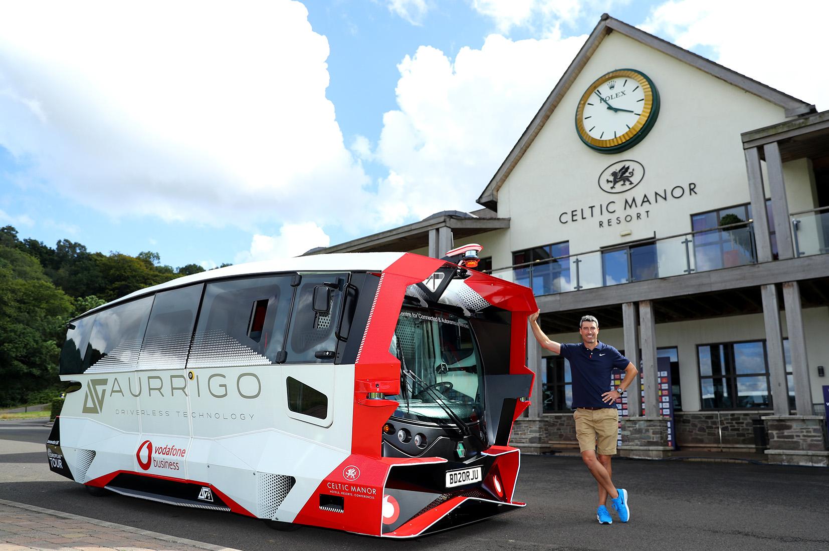Aurrigo Autonomous Shuttle