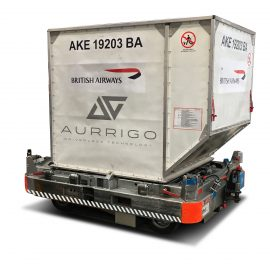 Aurrigo Autonomous Dolly And ULD