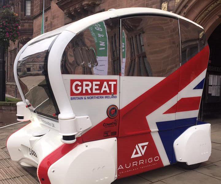Aurrigo Attend Green Great Britain Week 2019