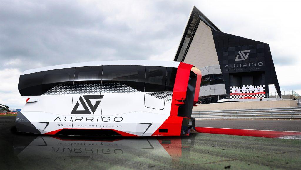 Aurrigo's autonomous shuttle