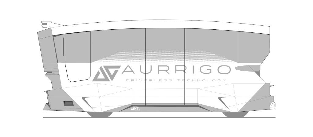 Aurrigo Shuttle Design